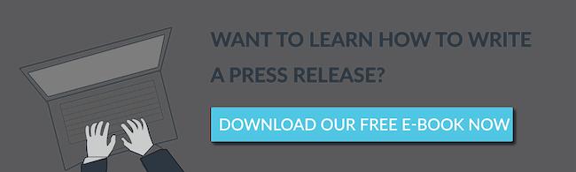 guide write press release - PR campaigns in July