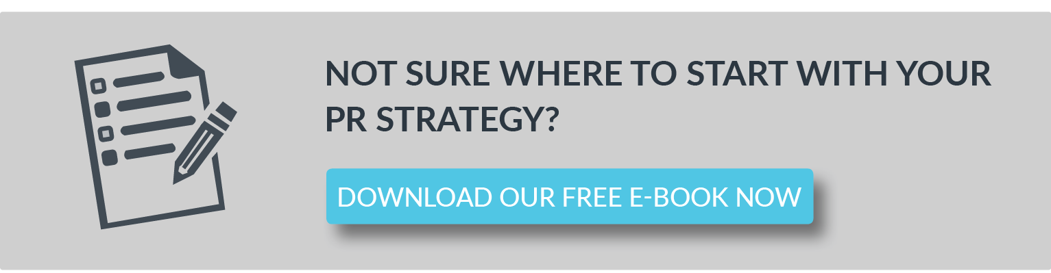 Creating a PR plan - PR as well as marketing