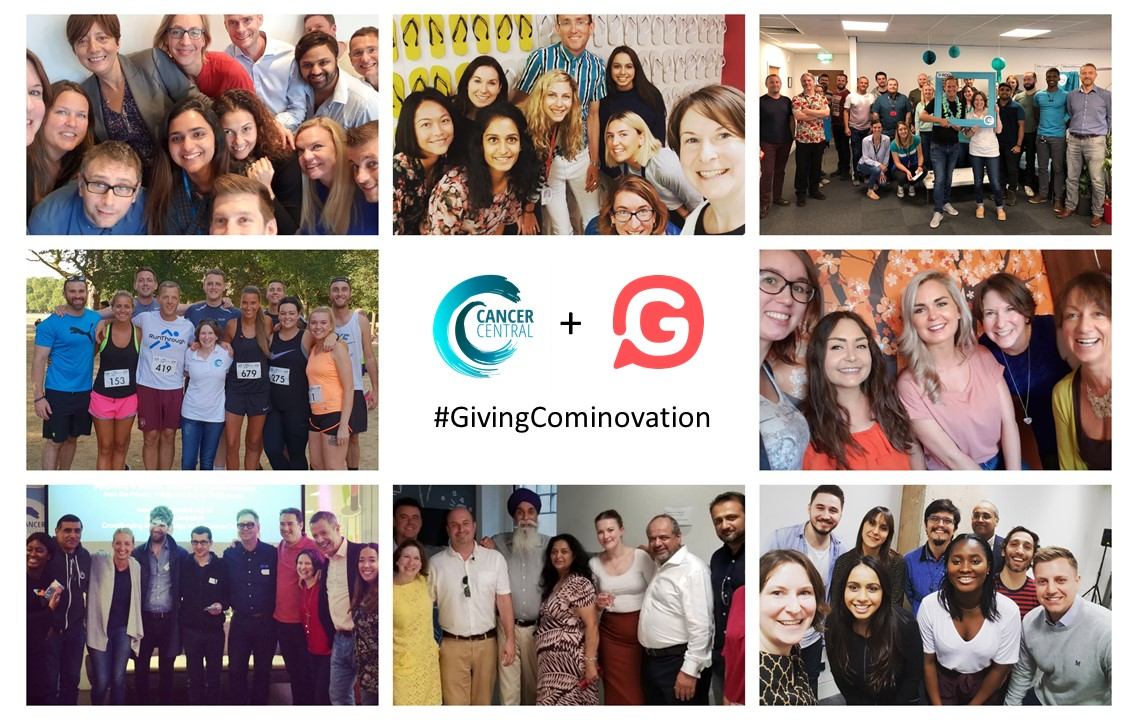 #GivingCominovation, Givey and Cancer Central celebrate Giving Tuesday